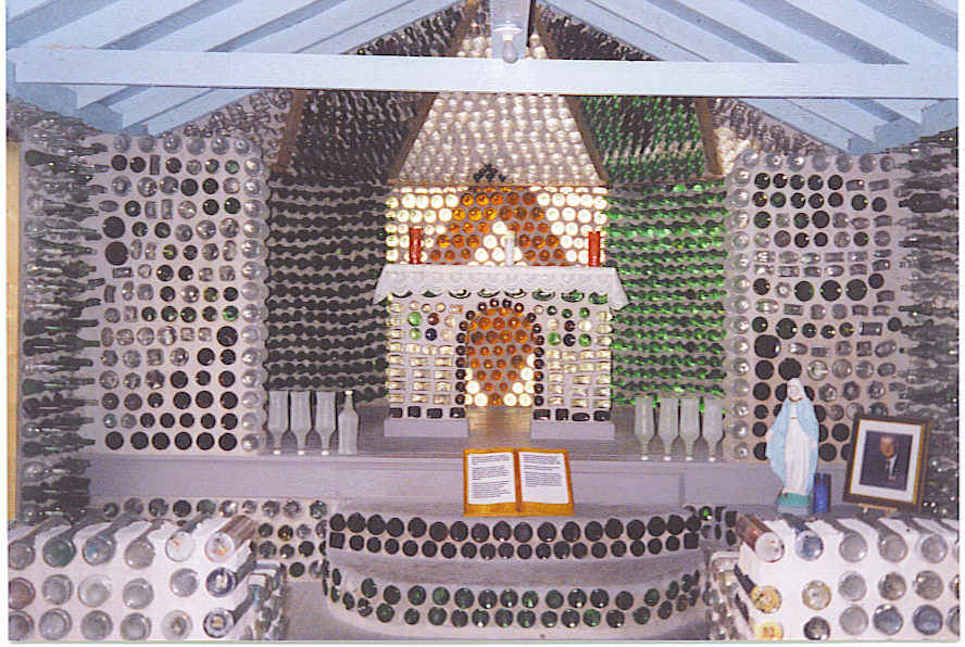 Bottle Houses of Prince Edward Island | Gypsy Road Trip on toothpick house designs, box house designs, wooden doll house designs, birdhouse house designs, glass house designs, playing card house designs, miniature house designs, pump house designs, boxcar house designs, tube house designs,