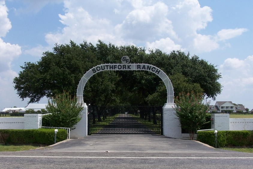 November 2012 gypsy road trip for Southfork ranch house plans