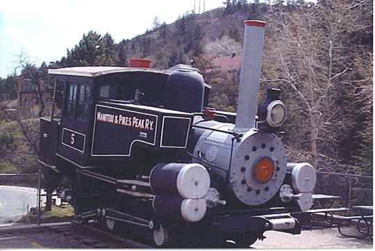 Pikes Peak Early Steam Engine