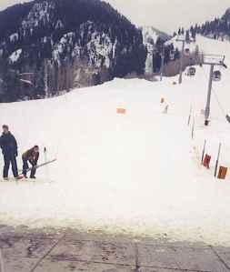 Beginning Skiers