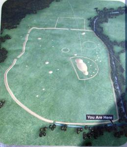 Hopewell Mound Group Map