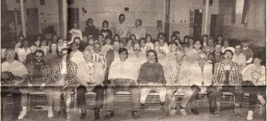Lions Club Chorus Practice