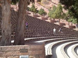 Steps and Seating at Amphitheater