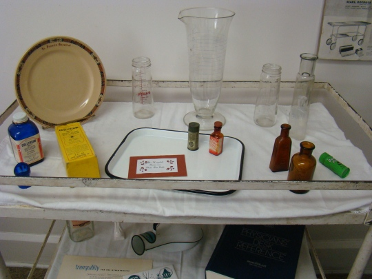 Items used at St Francis Hospital