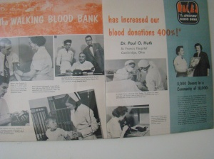 The Walking Blood Bank poster