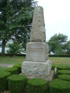 Chief Cornstalk Monument