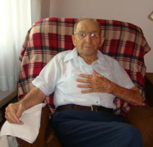 Ed Lehotay at 97 years of age