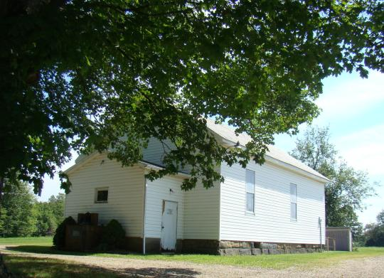 Hopewell One-Room School at Indian Camp