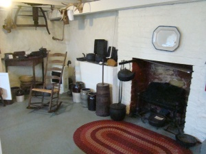 Basement kitchen at The Mansion House