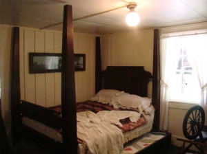Four-poster bed over 150 years old