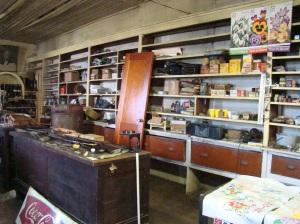 Shelves at Morrison Store