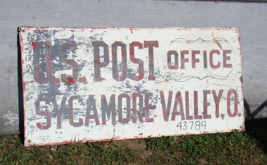 Sycamore Valley Post Office