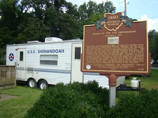 Shenandoah Airship Trailer Museum in Ada, Ohio