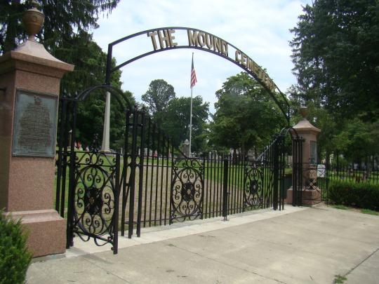 Marietta Mound Cemetery in Marietta, Ohio