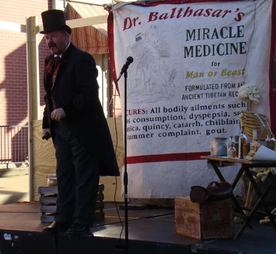Dr. Balthasar, Medicine Man