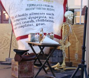 Skeleton, who did not heed the doctor's warning
