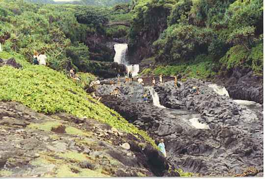 Falls at Seven Sacred Pools