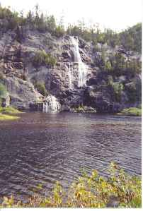 Waterfalls at Agawa Canyon Park