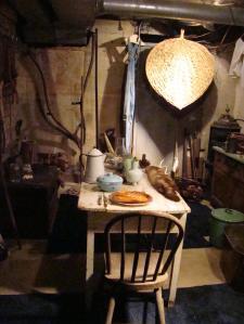 Inside of slave cabin
