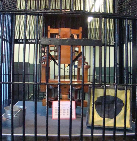 Old Sparky, the electric chair