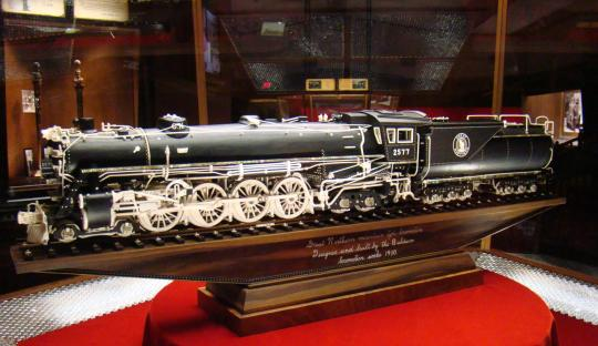 The Great Northern Locomotive