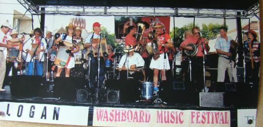 Washboard Music Festival in Logan, Ohio