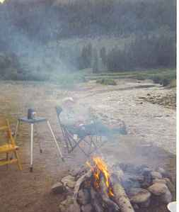 Camping along the Snake River