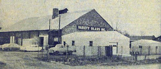 Variety Glass in old trolley barn