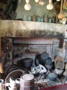 The original kitchen