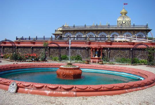 Palace of Gold from Rose Garden
