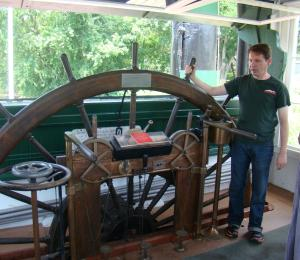 Pilot Wheel of W.P. Snyder, Jr.