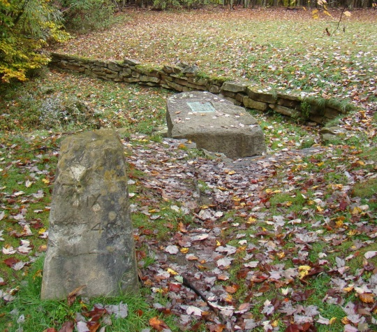 Two Fairfax Stones - 1910 and 1985