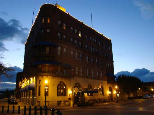 Haunted Lafayette Hotel