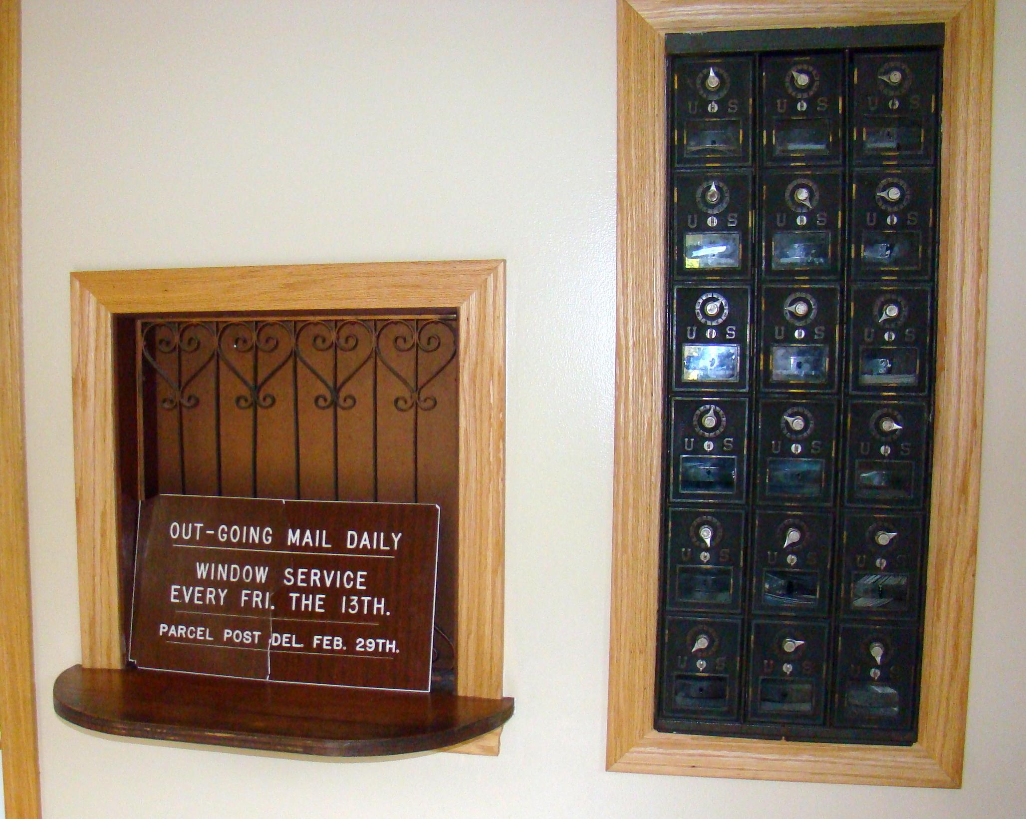 smallest post office