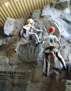 Rock climbing models