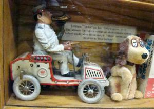 1890's Tut Tut Car - oldest toy at the museum