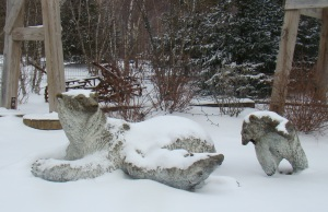 Polar Bear statues