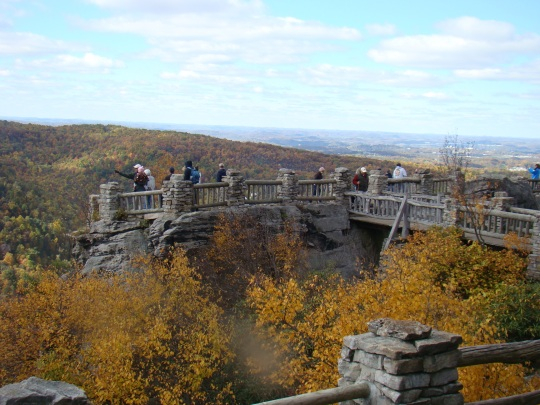 Cooper Rock Overlook