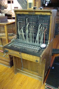 Original switchboard used in Dover.
