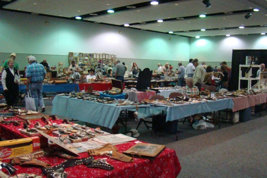 Vendors from all over the United States displayed their western wares.