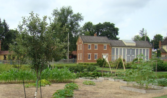 A vegetable garden would naturally have been part of the Zoarites Garden.