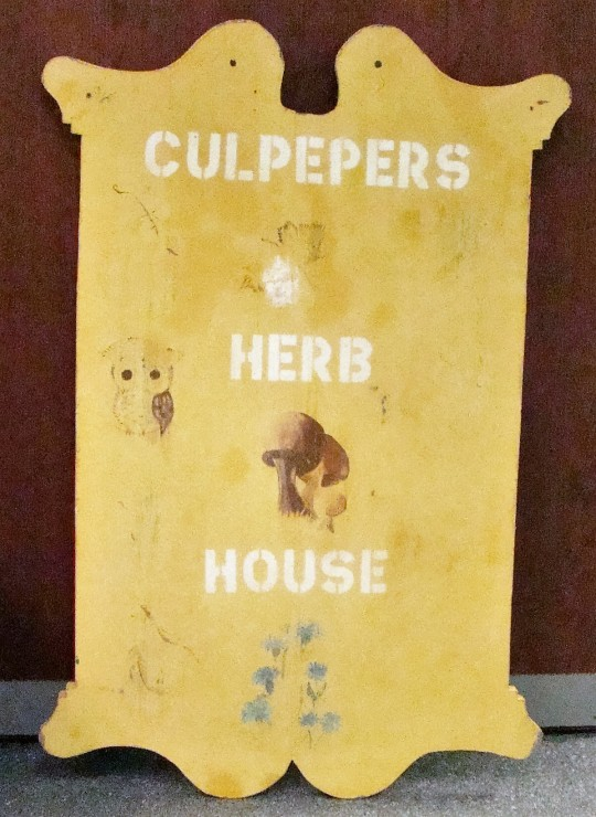 Recently Bunnie retired from her Culpepers & Herb Shop.