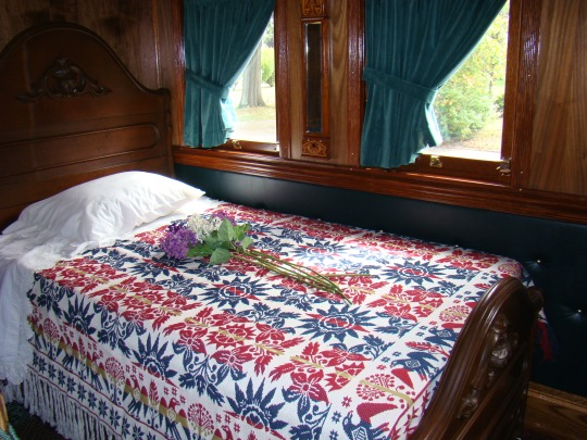 Lincoln felt this train too luxurious when the country suffering from the effects of the Civil War.