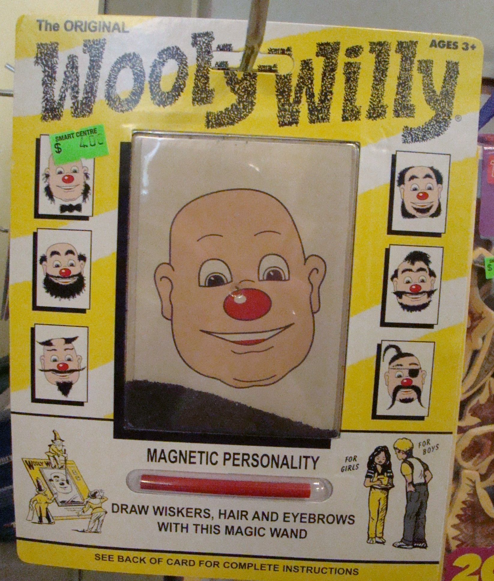SMART Wooly Willy