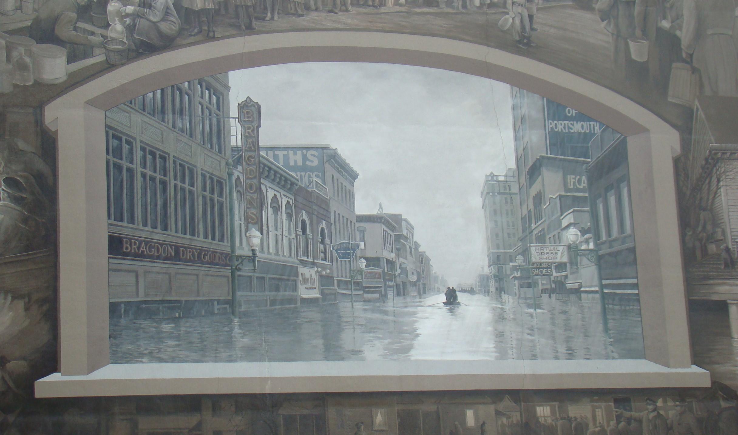 Floodwall Flood