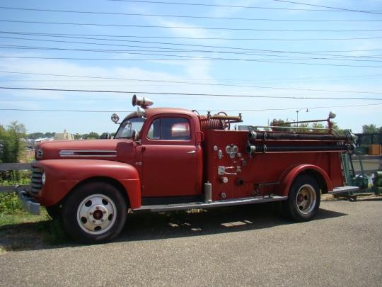 Gas Firetruck