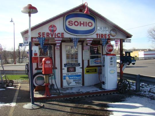 Gas Pump Sohio