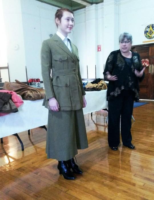 Vintage Army Dress