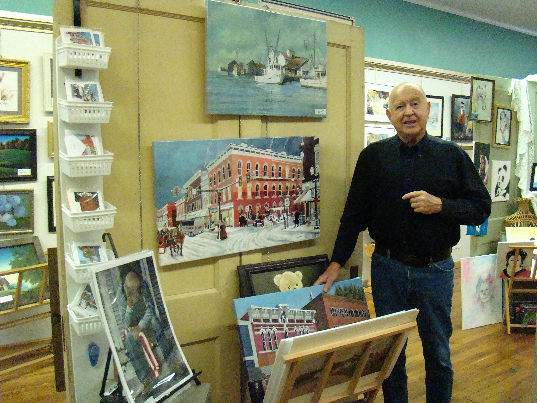 Bob at Art Guild