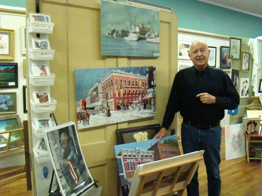 Bob at Art Guild